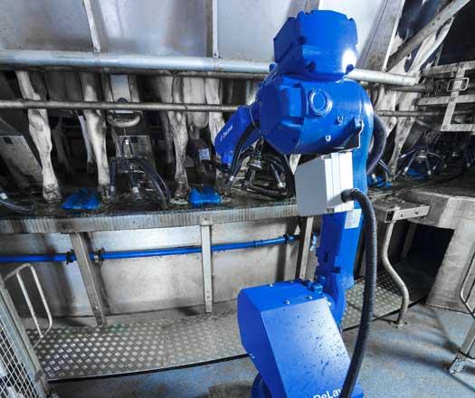 DeLaval Teat Spray Robot