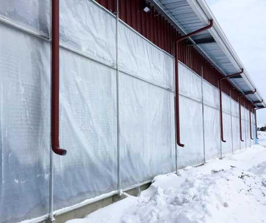 Dairy Barn Curtain Wall