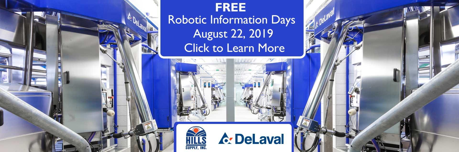 Robotic Milking Info Day