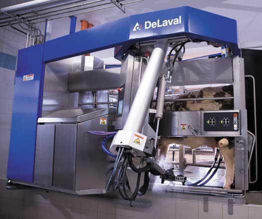 DeLaval VMS V300 Robotic Milking