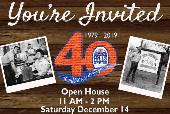 Hills Supply 40th Anniversary